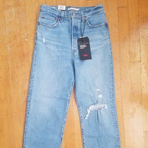 NWT Levi's Ribcage Straight Ankle Jeans